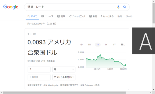 google-currency-rate