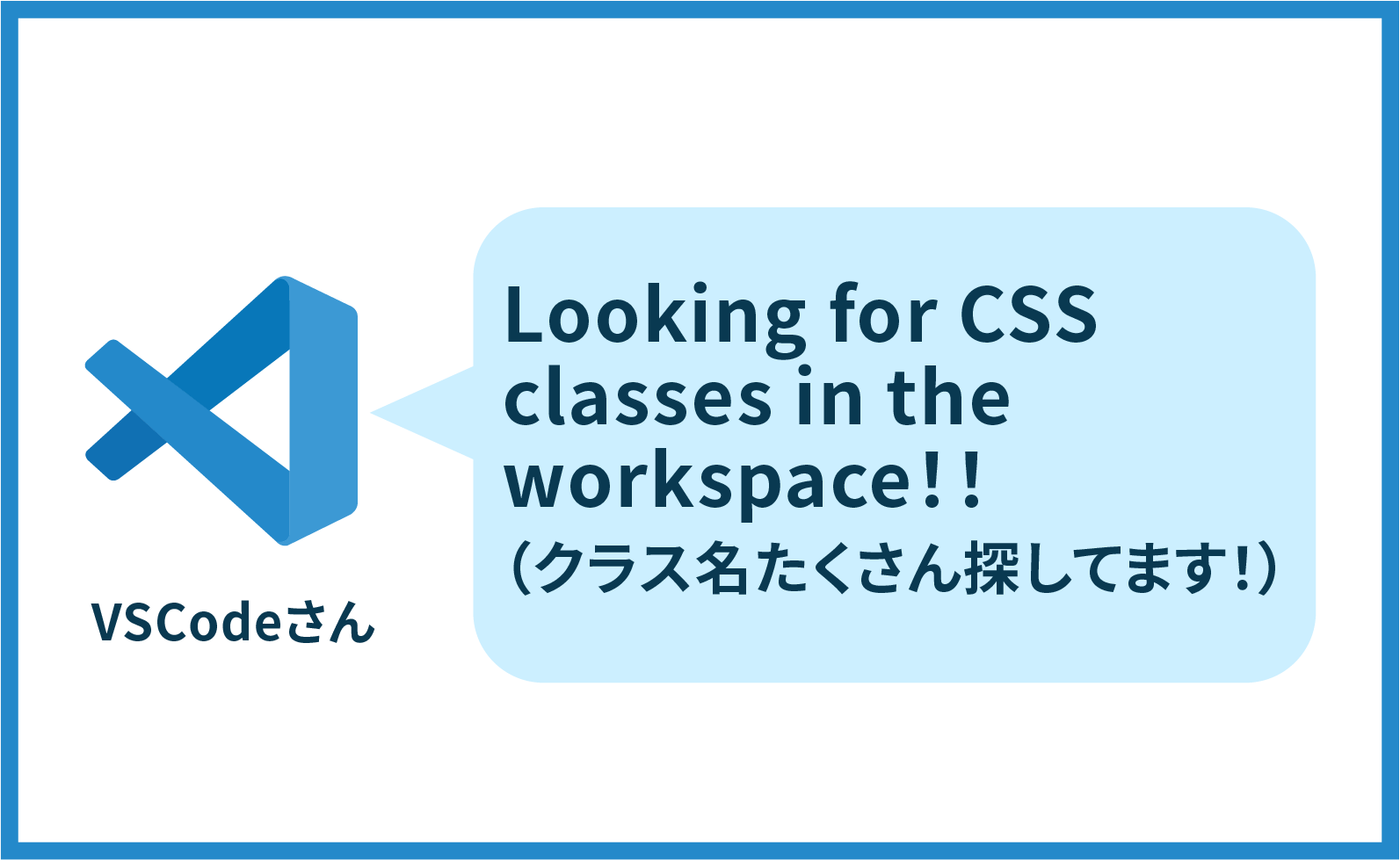 VSCodeで「Looking for CSS classes in the workspace」に悩まされた話